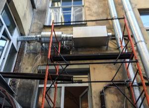 Монтаж приточной вентиляции