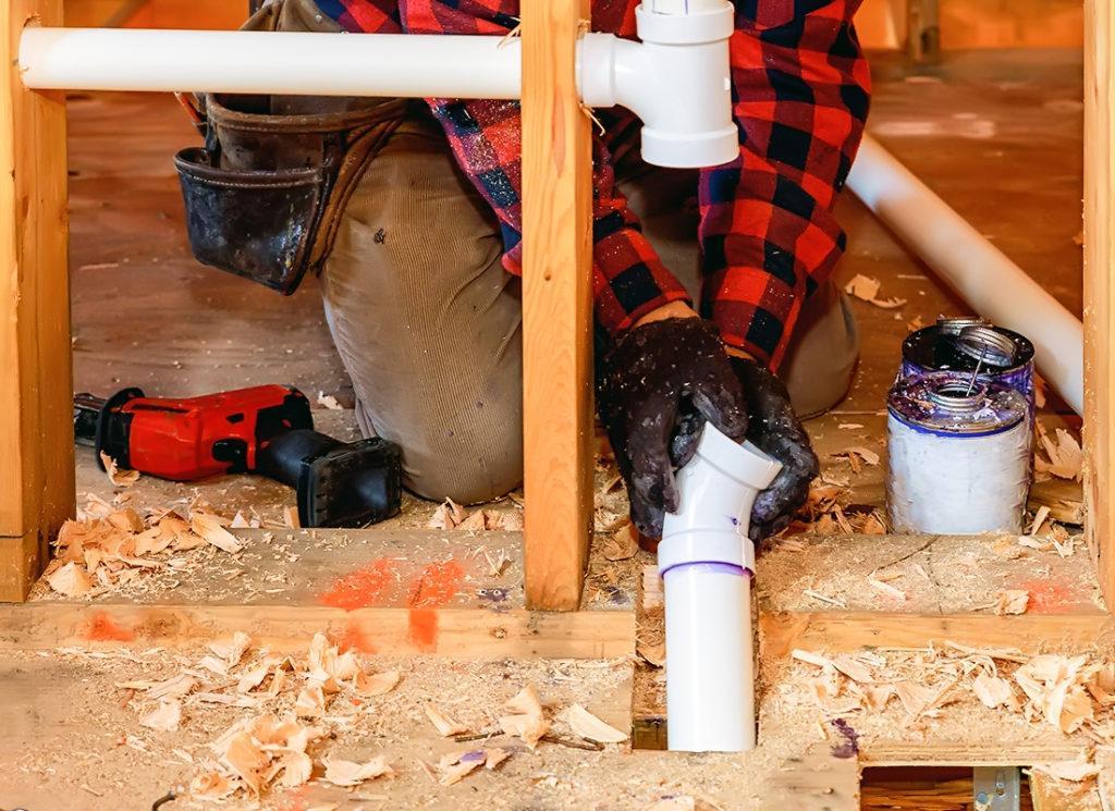 Монтаж водопровода в частном доме