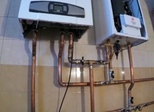 Подключение двух котлов к системе отопления