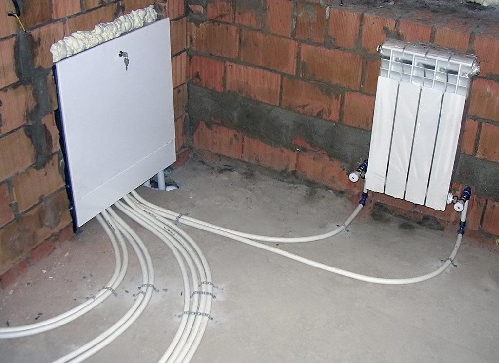 Подключение газового котла к системе отопления