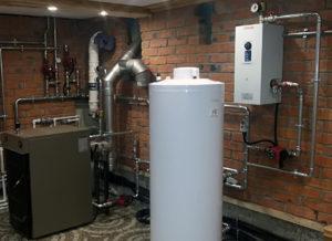 Подключение котла к системе отопления