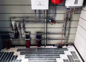 Подключение настенного газового котла к системе отопления