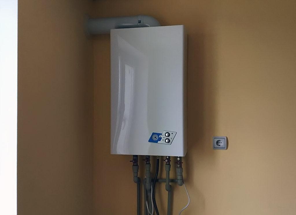 Подключение отопления к газовому котлу