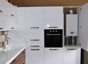 Установка газового котла в квартире
