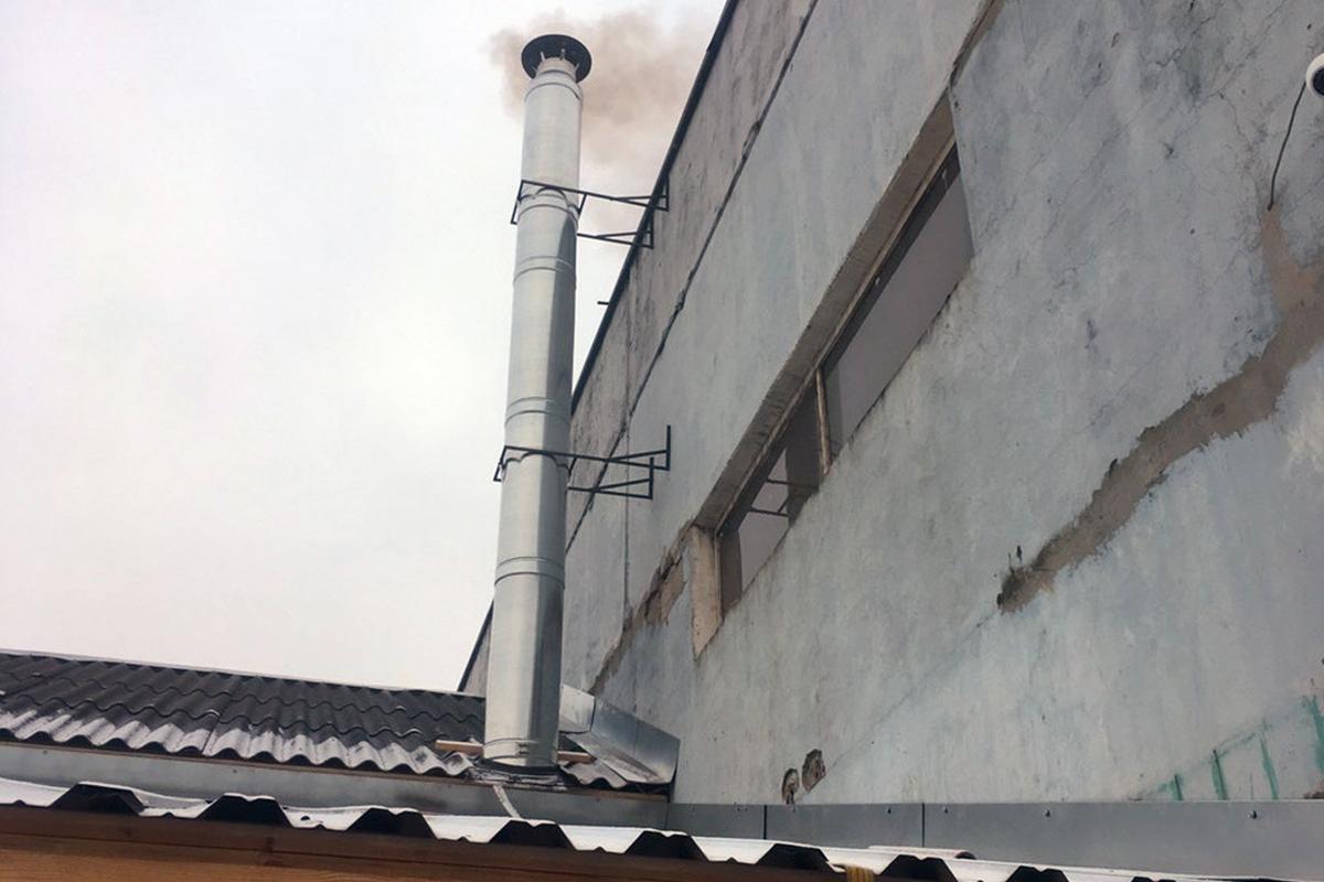 Монтаж котлов на твердом топливе